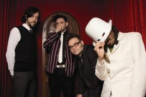 El grupo de rock mexicano Café Tacvba