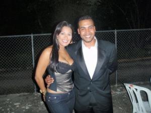 Carolyne Aquino y Don Omar. Foto: El venenazo.com